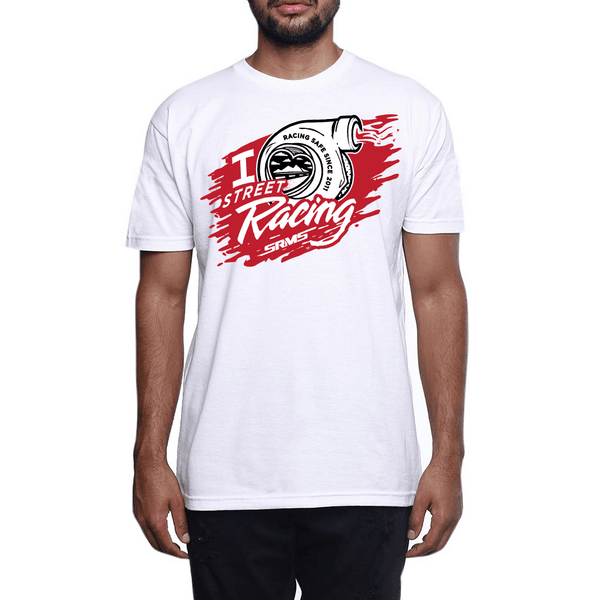 I Love Street Racing T Shirt