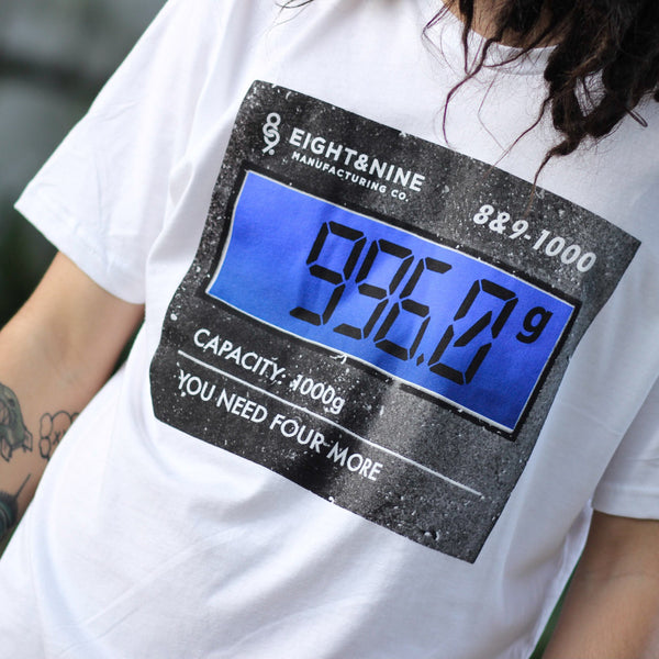 996 GRAMS T Shirt White