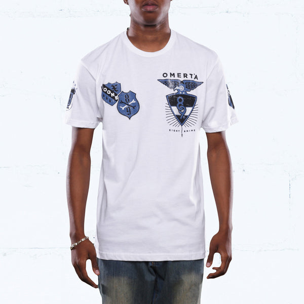 Omerta French Blue T Shirt