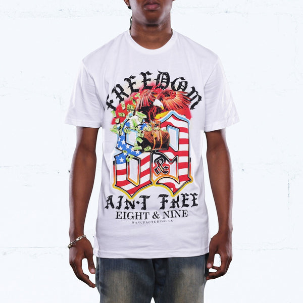 Louie Freedom T Shirt White