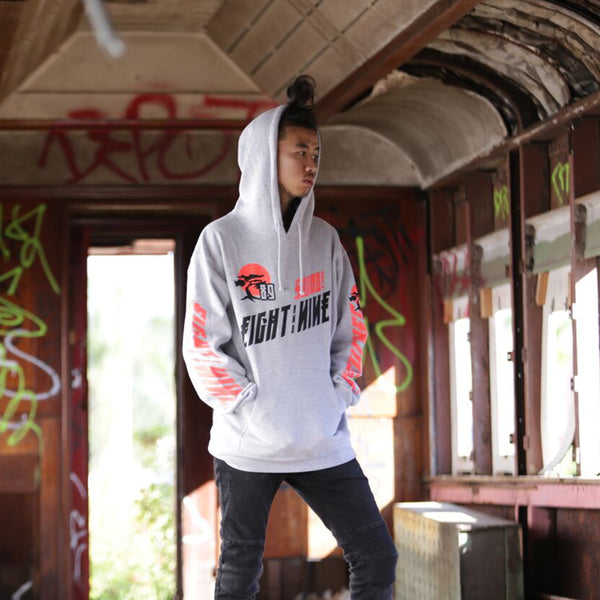 Bonzai Hooded Sweatshirt Grey - 1
