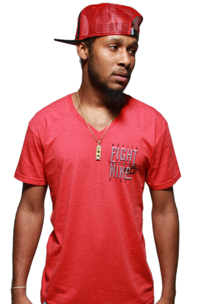 Masterminds Infrared V Neck Tee - 2
