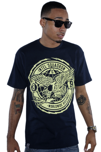 Intel Squadron Blue T Shirt - 1