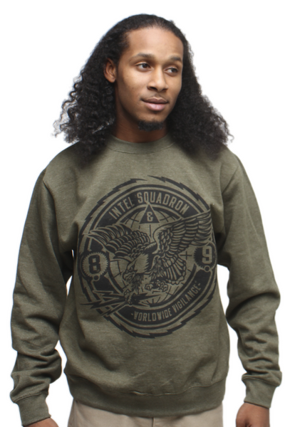 Brain Gang Intel Squad Crewneck Sweatshirt - 1