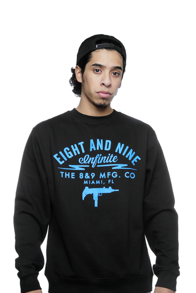 UZI Co Powder Blue Sweatshirt - 1