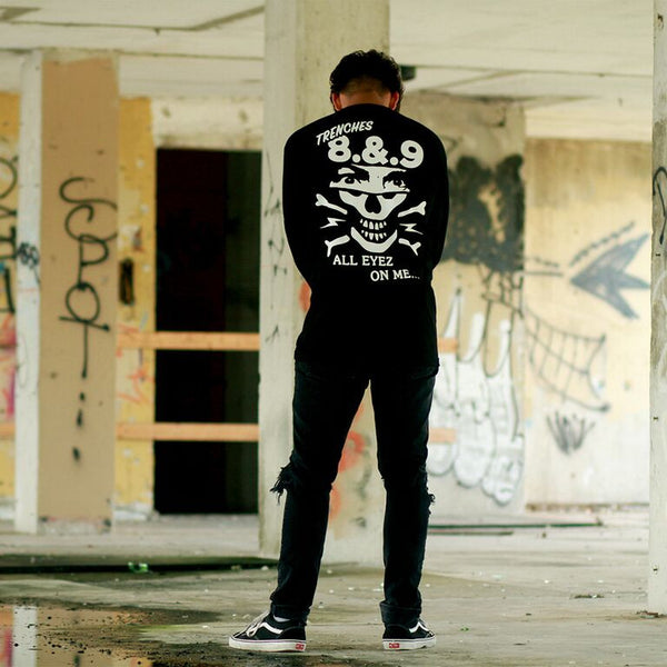 Eyez L/S T Shirt Black