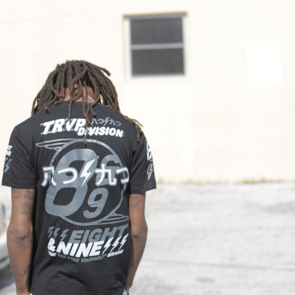 Trap Division Jersey Tee Black Chrome - 1