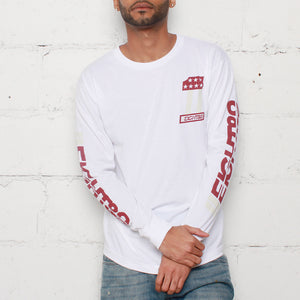 jordan 6 maroon shirt  long sleeve
