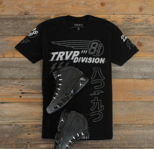 Trap Division Jersey Tee Black Chrome - 4