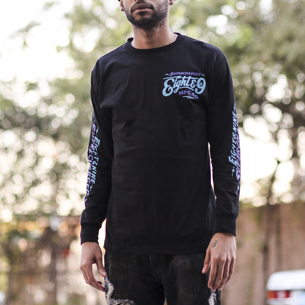 Aqua 8 T Shirt L/S Supercharged