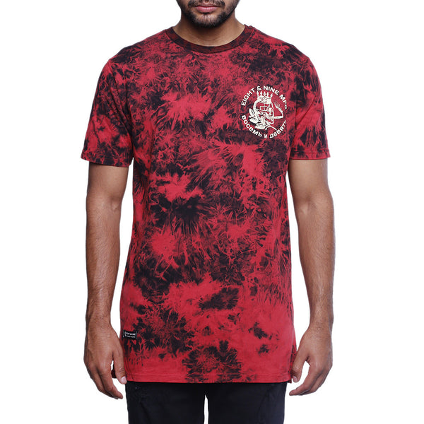 justice ss t shirt red front