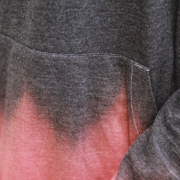 keys dip dye hoodie infrared close up streetwear