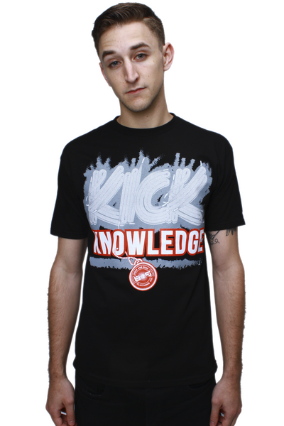 Kick Knowledge Black Cement T Shirt - 1