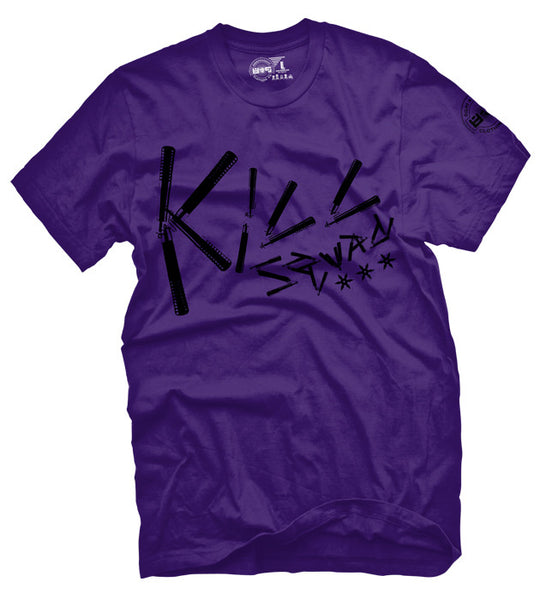 Kill Squad Nunchacu Purple T Shirt - 2