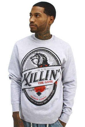 Killin The Game Crewneck Sweatshirt - 1