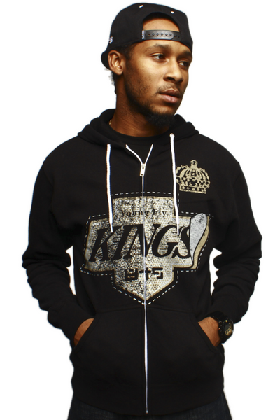 Fly Kings Vintage Zip Up Sweatshirt - 1