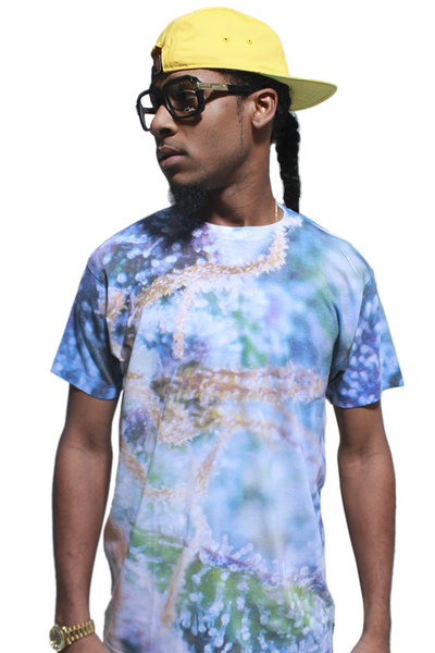 Magnified Trichome Sublimated T Shirt