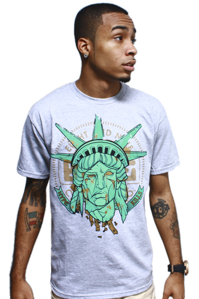 Hype Kills Statue Of Liberty T Shirt - 1