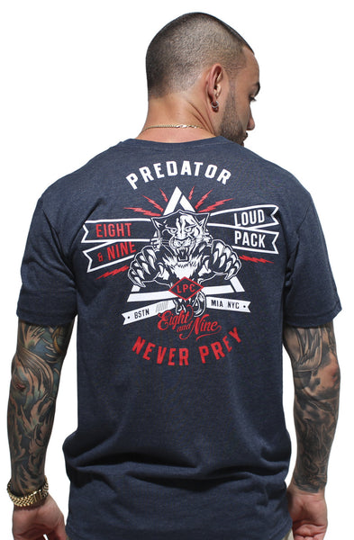 Loud Pack Predator V Neck Tee - 1