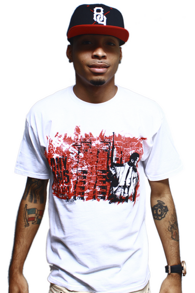 By Any Means Necessary Fire Red T Shirt - 1