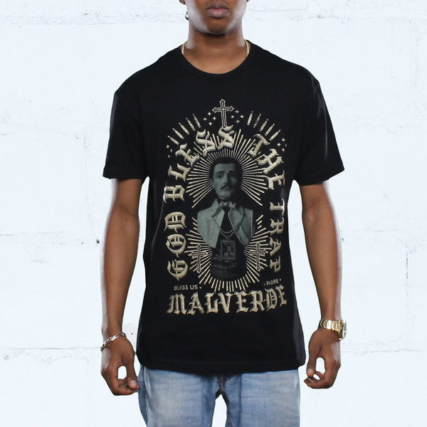 Malverde T Shirt Black