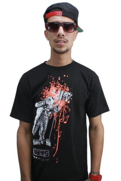 Mango Brain Dead MTV Moon Man T Shirt - 1