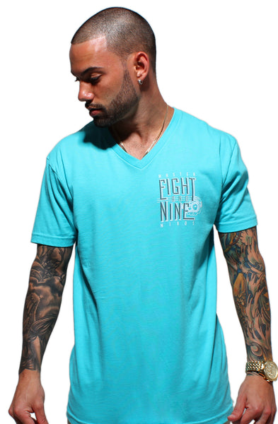 Masterminds Mint V Neck Tee - 2