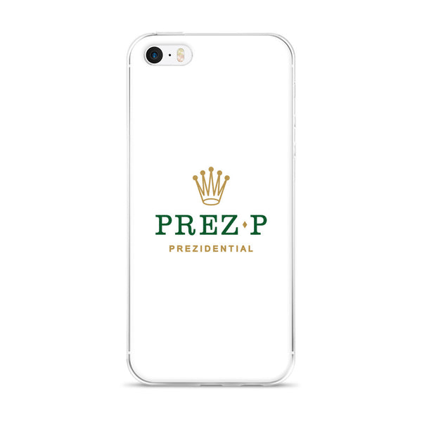 "Prez P ""Rolex"" iPhone 5/5s/Se, 6/6s, 6/6s Plus Case"