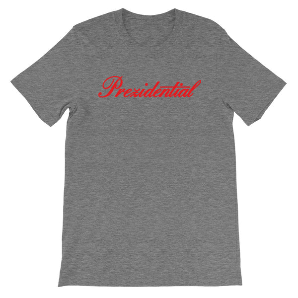 "Prez P ""Cadillac"" Gray & Red T Shirt"
