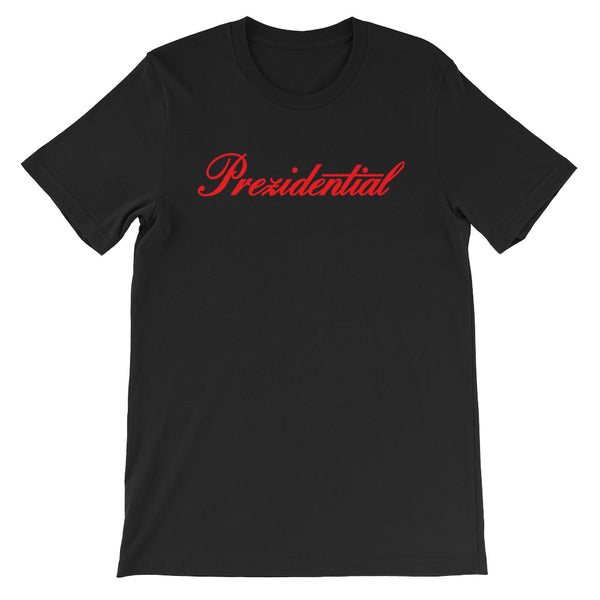 "Prez P ""Cadillac"" Black & Red T Shirt"