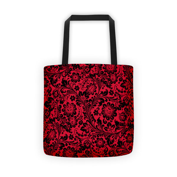 Khoklohoma Red Tote bag