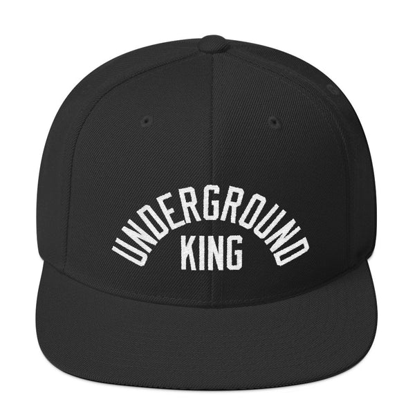 "Yung Simmie ""Underground King"" Snapback Black"