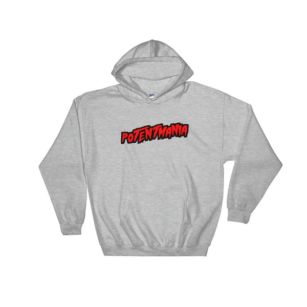 Jae Millz PotentMania Hooded Sweatshirt Grey