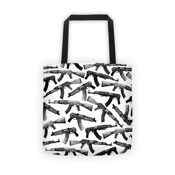 AK's All Over Print Tote bag