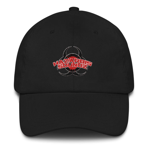 Hazardis Soundz Vintage Black Dad Hat