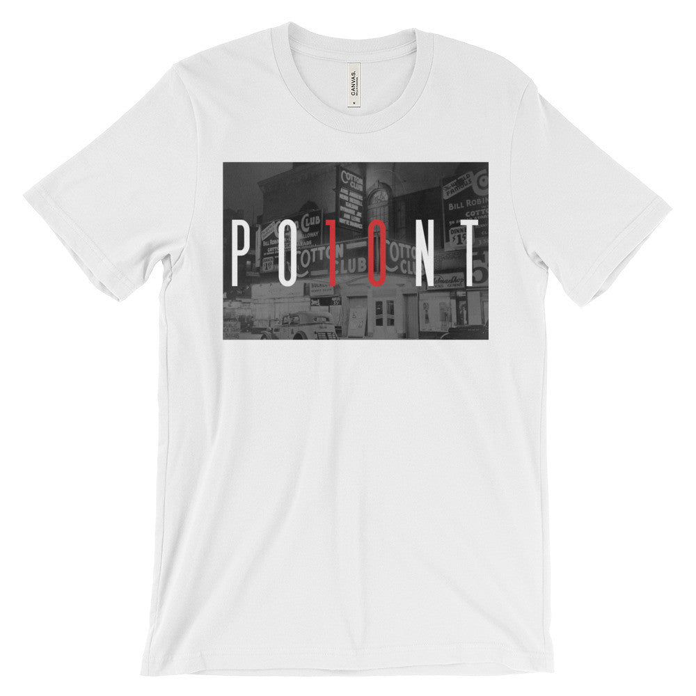 "PO10NT ""Harlem Cotton Club"" Tee"