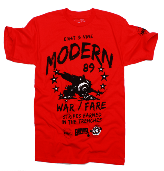 Modern Warfare Red T Shirt - 2