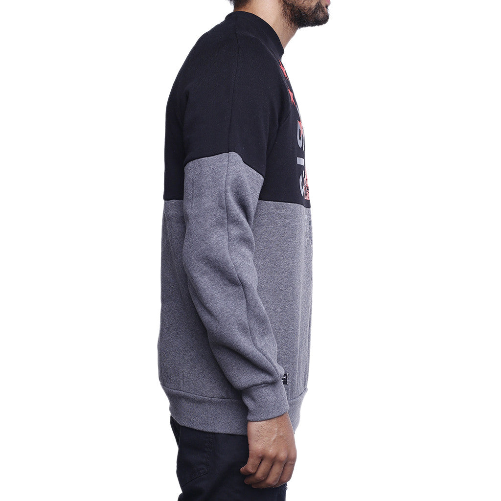 motherland crewneck sweatshirt black side