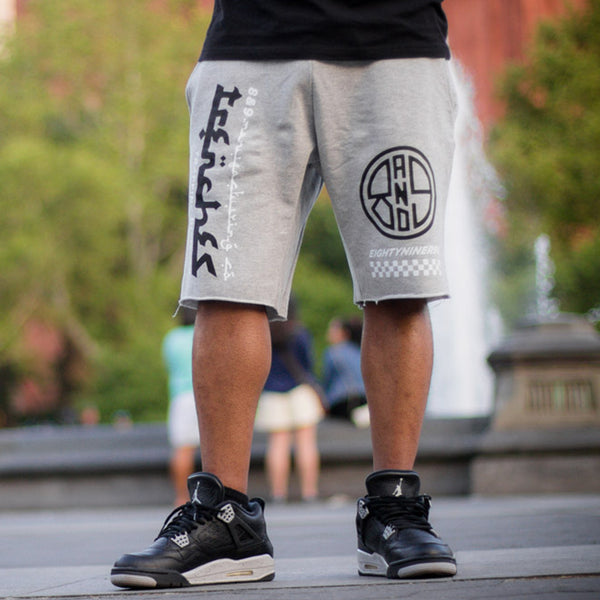 Trap Division French Terry Shorts Grey - 1
