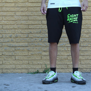 Cruise Black French Terry Shorts Volt - 1