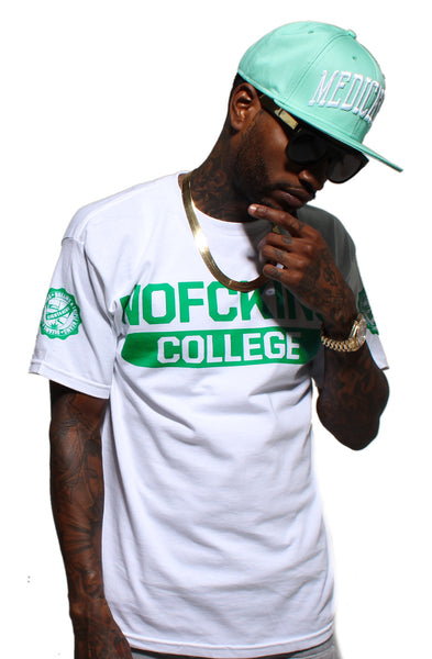 Ivy League College Crystal Mint T Shirt - 1