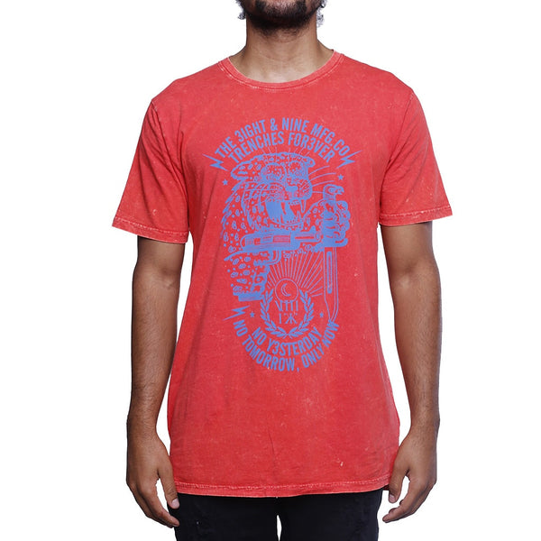 Only Now SS T Shirt Red