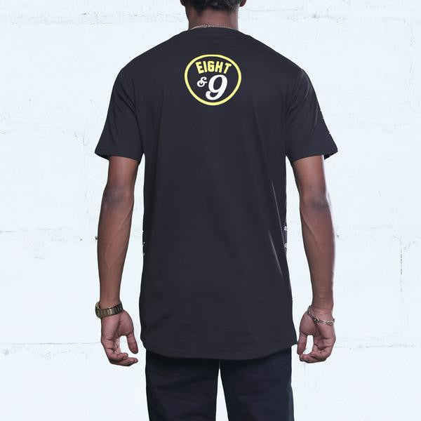 Optic Yellow CRJS Shirt back