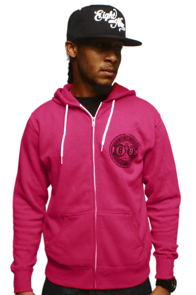 Intel Squad Magenta Zip Up Sweatshirt - 2