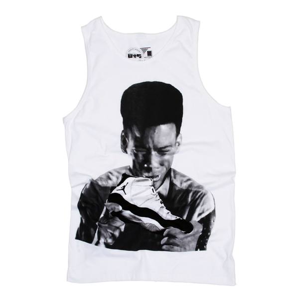 Pookie New Jack City Concord 11 White Tank Top - 2