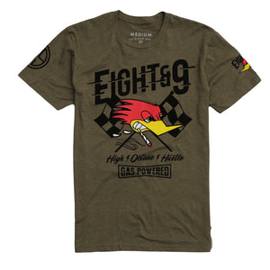 Octane T Shirt Army Heather - 1