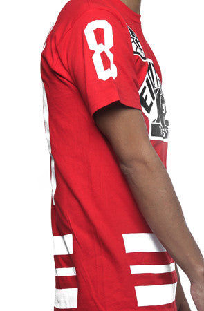 Trenches Hockey Jersey Fire Red - 3