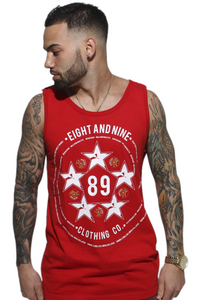 Red Fly High Militia Tank Top - 1