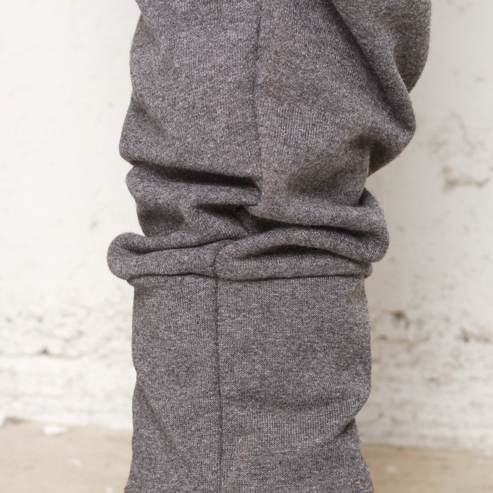 Rudimental Paneled Terry Joggers Charcoal