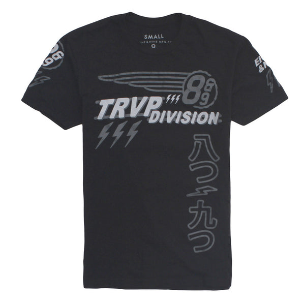 Trap Division Jersey Tee Black Chrome - 2
